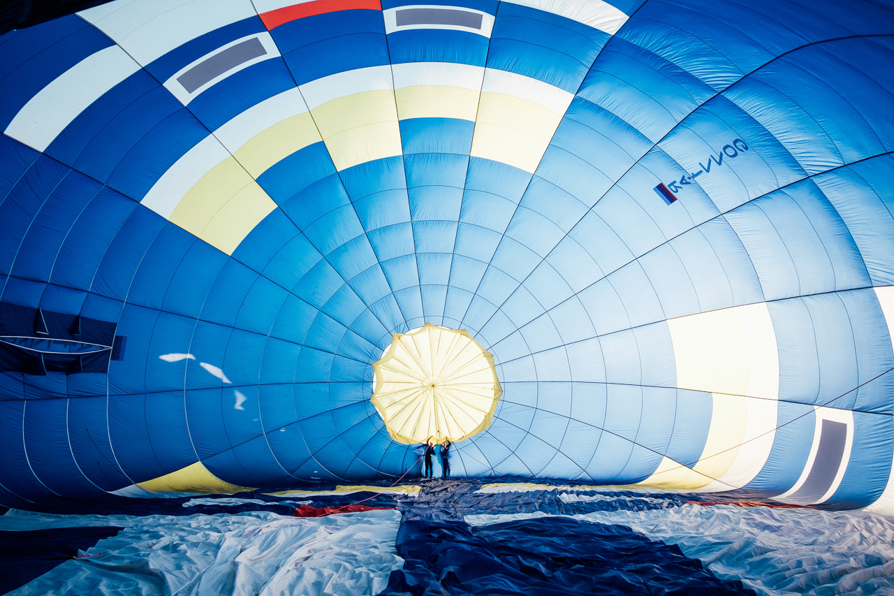 полет на воздушном шаре для жены