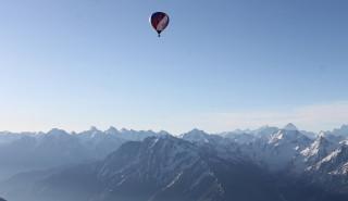Полёт над Эльбрусом на воздушном шаре