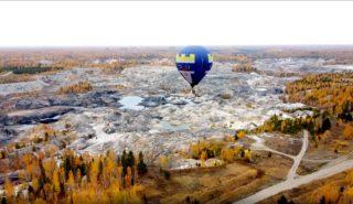 Полёт на воздушном шаре на Уральский Марс!